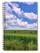Iowa Cornfield Spiral Notebook