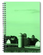 Iowa Farm Panorama Spiral Notebook