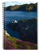 Irish Seascape Spiral Notebook