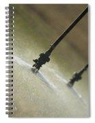 Irrigation Sprinklers Heads Spiral Notebook