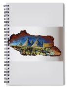 Italy Village Spiral Notebook
