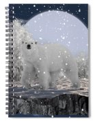 It's Snowing Spiral Notebook
