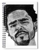 J Cole Spiral Notebook