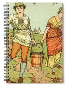 Jack And Jill Spiral Notebook