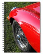 Jaguar E-type Spiral Notebook