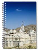 Jain Temple Of Ranakpur Spiral Notebook