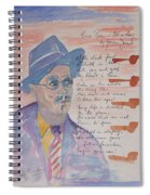 James Joyce Spiral Notebook