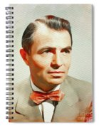 James Mason, Vintage Movie Star Spiral Notebook