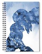 Jane And Tarzan-blue Spiral Notebook