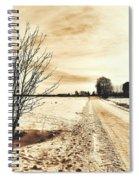 January Spiral Notebook