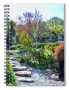 Japanese Garden 3 Spiral Notebook
