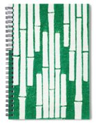 Japanese Textile From Shima-shima Spiral Notebook