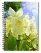 Jasmine Fly-by Spiral Notebook