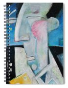 Jazz Face Spiral Notebook
