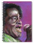 Jazz. James Brown. Spiral Notebook