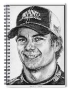 Jeff Gordon In 2010 Spiral Notebook