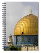 Jerusalem Dome Of The Rock  Spiral Notebook