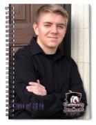 Jesse Cline - Class Of 2016 Spiral Notebook