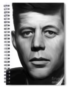 JFK Spiral Notebook