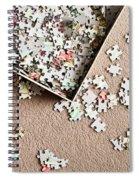 Jigsaw Puzzle Spiral Notebook