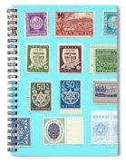 Jnf Stamps  Spiral Notebook