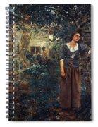 Joan Of Arc C1412-1431 Spiral Notebook