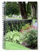 Joe Frazier Gravesite Spiral Notebook