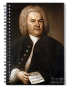 Johann Sebastian Bach, German Baroque Spiral Notebook