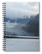 John Hopkins Glacier Spiral Notebook