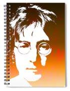 John Lennon The Legend Spiral Notebook