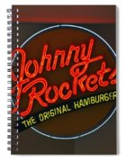Johnny Rockets Spiral Notebook