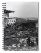 Johnstown Flood, 1889 Spiral Notebook