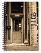 Jonesborough Tennessee - Main Street Spiral Notebook
