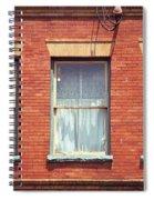Jonesborough Tennessee Three Windows Spiral Notebook