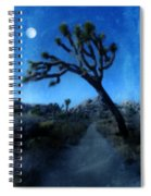 Joshua Trees At Night Spiral Notebook