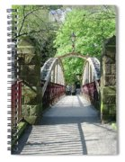 Jubilee Bridge - Matlock Bath Spiral Notebook