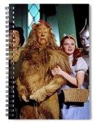 Judy Garland And Pals The Wizard Of Oz 1939-2016 Spiral Notebook