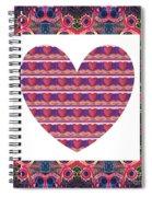 Just Love Spiral Notebook