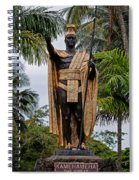 Kamehameha The Great Spiral Notebook