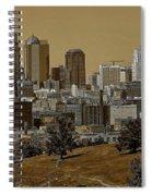 Kansas City Skyline Spiral Notebook