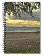 Kaohikapu Island Sunrise Spiral Notebook