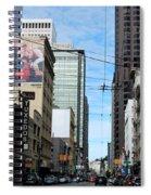 Karney Street San Francisco  Spiral Notebook