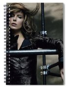 Kate Beckinsale Spiral Notebook