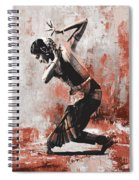 Kathak Dancer  Spiral Notebook