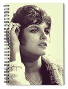 Katharine Ross, Vintage Actress Spiral Notebook