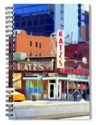Katz's Delicatessan Spiral Notebook