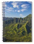 Kauai Aerial Spiral Notebook