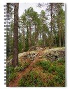 Kaukaloistenkallio Hillside View Spiral Notebook