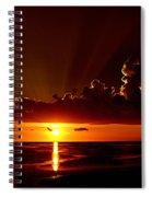 Keaton Beach Sunset Spiral Notebook