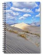Kelso Dunes Desert Landscape Spiral Notebook